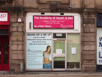academy of health and diet