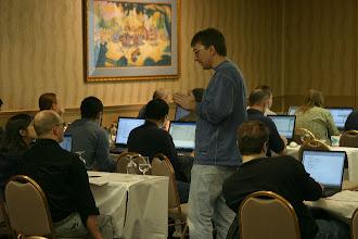 Photo: SWT Tutorial, EclipseCon 2004