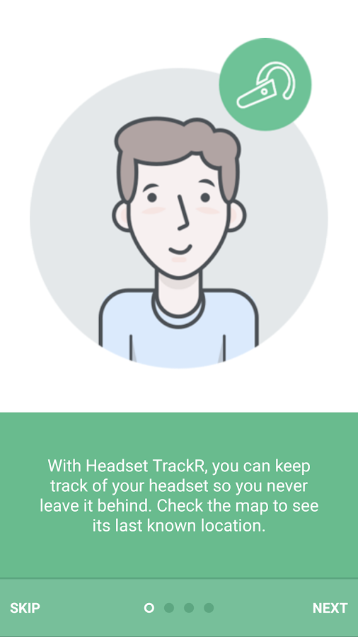 TrackR headset - Locate & Find- screenshot