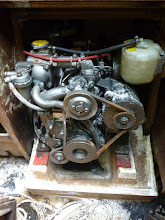 Photo: Engine: Yanmar 2GMF20.