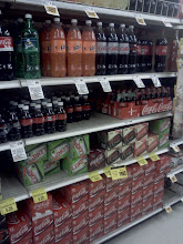 Photo: I snapped a quick photo of the Coke section just to show how full it was, sorry but Pepsi is better! #PepsivsCoke