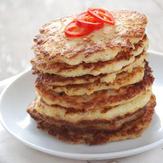 Savoury Cauliflower Pancakes