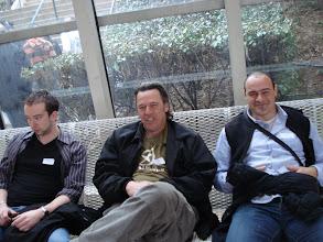 Photo: La concentration se fait sentir :  Luigi, El Soviet et Raph (moins concentré à la vue de cette photo)