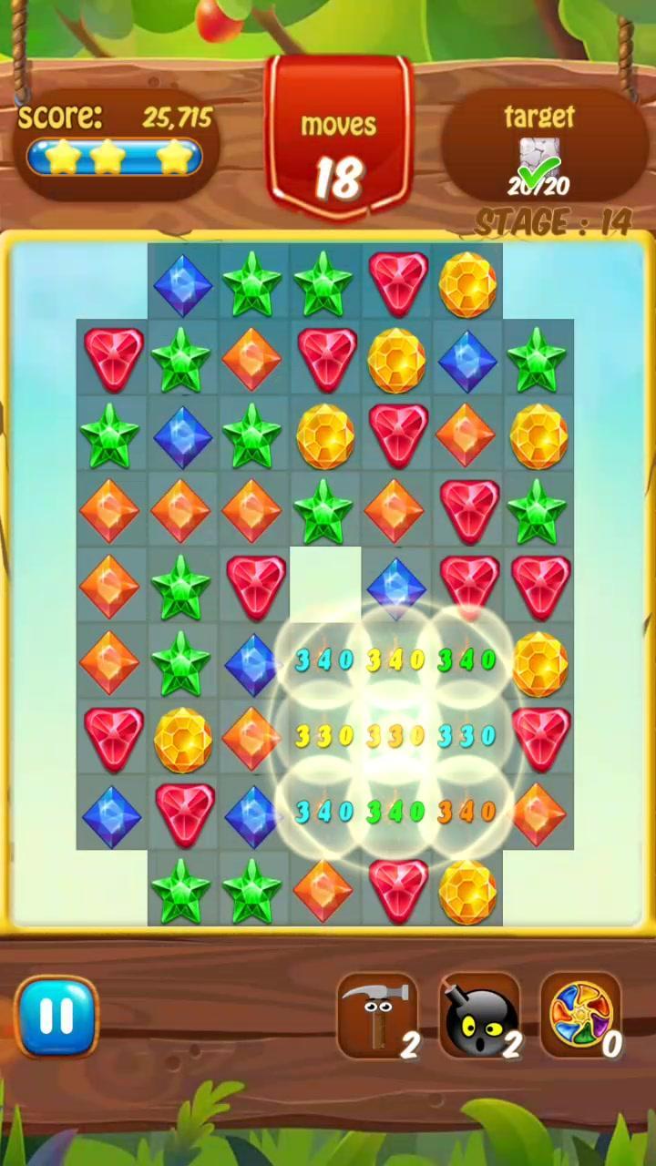 Скриншот Jewels Jungle