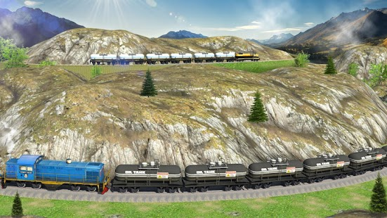 Oil Tanker Train Simulator- screenshot thumbnail