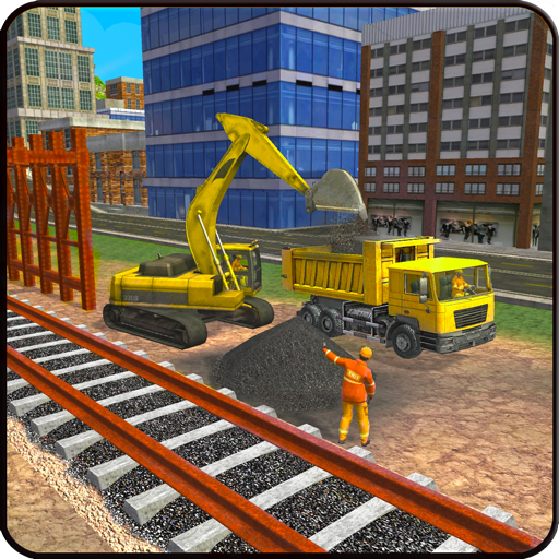Indian Rail Builder: Train Construction Games