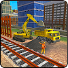 Indian Rail Builder: Train Construction Games