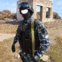 Exército montagem da foto icon