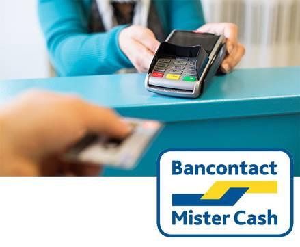 Vanaf 21 maart: Bancontact beschikbaar