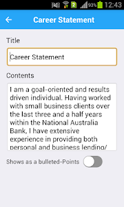 Resume Expert screenshot 3
