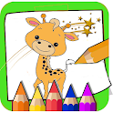 Coloring and Learn Animals icon