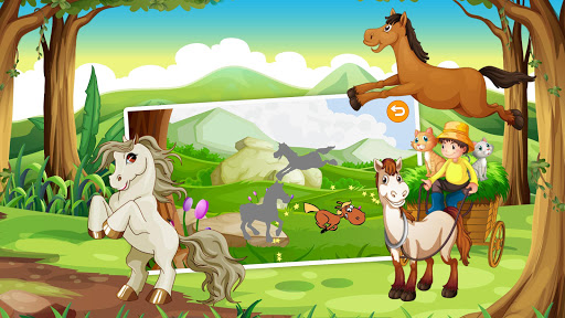 Horse Puzzles for Kids Free