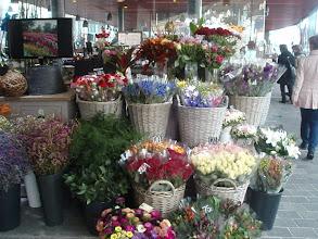 Photo: The flower market near the fish market.