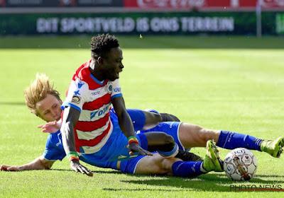 Le joueur du Club de Bruges Krépin Diatta n'est pas sorti indemne du duel à Gand