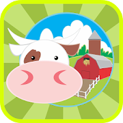 Farm Animals Kid Coloring Book