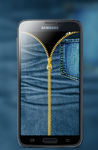 Jeans Zipper Screen Locker screenshot 2