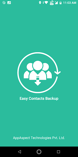 Easy Contacts Backup - Smart Contacts Manager ss1
