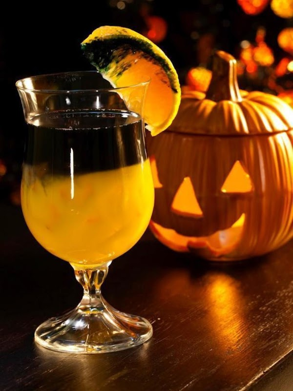 Voo-doo Magic Halloween Cocktail Recipe