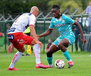 Charleroi, avec Gillet pendant 15 minutes, partage contre Courtrai