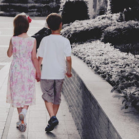 Young Love  by Emily Lei - Novices Only Portraits & People ( love, naive, friends, russian, children, adorable, kids, young )