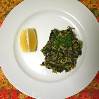 Dad's Greek Spinach & Rice