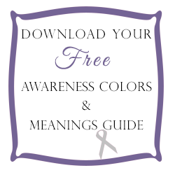 Awareness Ribbon Colors And Meanings Guide Crystal Allure Creations