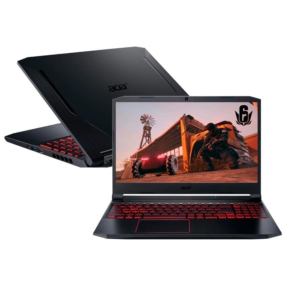 Imagem de notebook  modelo Notebook Gamer Acer Aspire Nitro 5 AN515-54-574Q
