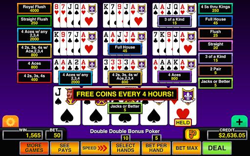 Video Poker Multi Hand Casino 1.2 screenshots 3