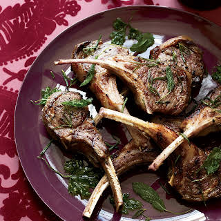 Lamb Chops with Frizzled Herbs.