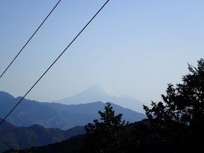 この日初めての富士山