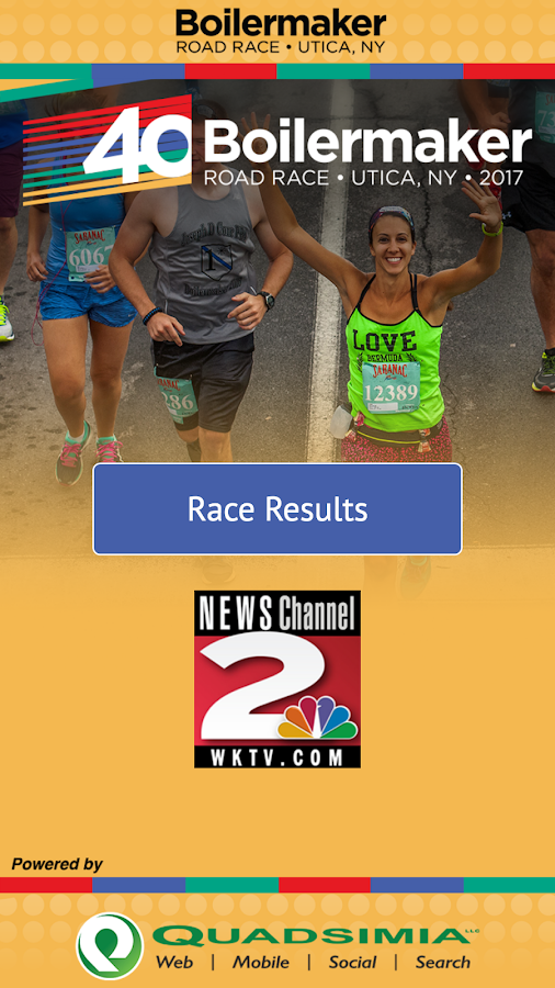 Boilermaker Results- screenshot