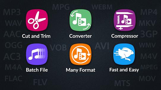 Video Converter, Compressor MP4, 3GP, MKV,MOV, AVI Premium v0.3.1 APK 1
