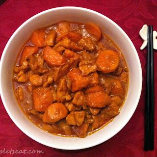 Easy Paleo Coconut Milk Curry Chicken.