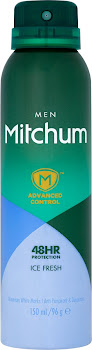 Mitchum Advanced Control Men Anti-Perspirant - 150ml, Ice Fresh
