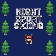 Night Sport Skiing Game