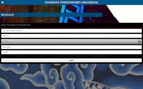 DONDAYS PHEROMONES INDONESIA- screenshot thumbnail