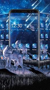 Starry Wolf Theme - náhled