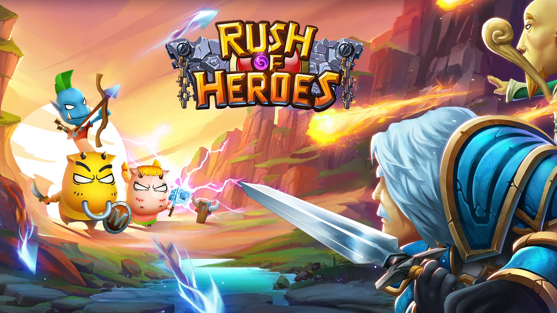 Rush of Heroes screenshot #1