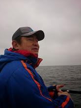 Photo: 昨日、早めに船に来て「酒」飲んでました。 出航が4時なのに2時まで飲んでたらしい・・・頭おかしい!