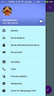 Tlgrm Free Chat and Calls - náhled