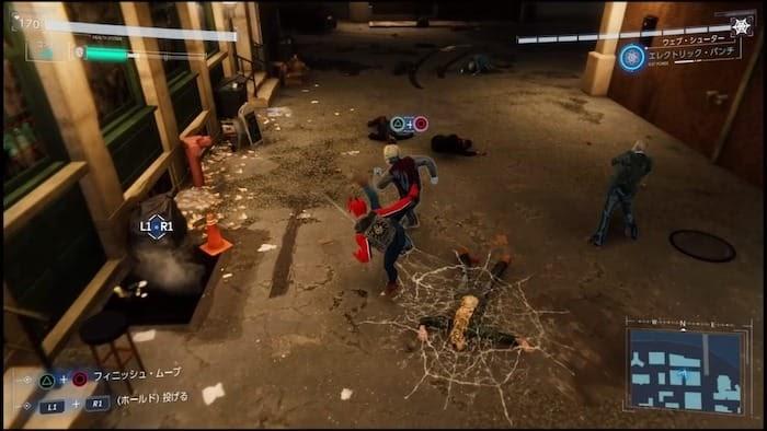 marvel's spider man ps4 スパイダーマン
