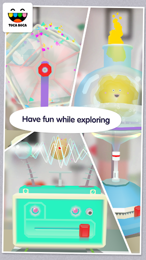 Screenshot for Toca Lab: Elements in United States Play Store
