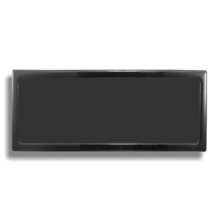 DEMCiflex magnetisk filter 3x160 mm, rektangulær, sort