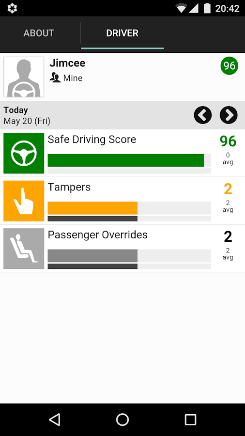 bSafeMobile - Drive Focused- screenshot