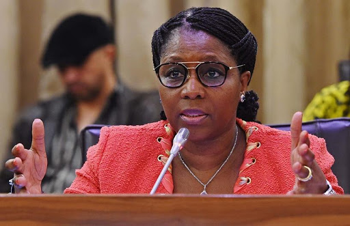 Minister Ayanda Dlodlo launched government's recruitment Web site in Pretoria on Wednesday. [Photo source: GCIS]