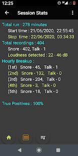 SnoreLogs: Log Mendengkur Anda