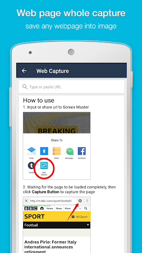 Screenshot for Screen Master Pro: Screenshot, Photo Markup in United States Play Store