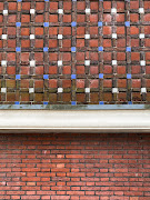 Ceri Müller finds inspiration in the intricate brickwork with coloured inlays that can be seen around her new home city.