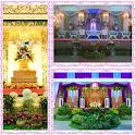 diseño de la decoración boda icon