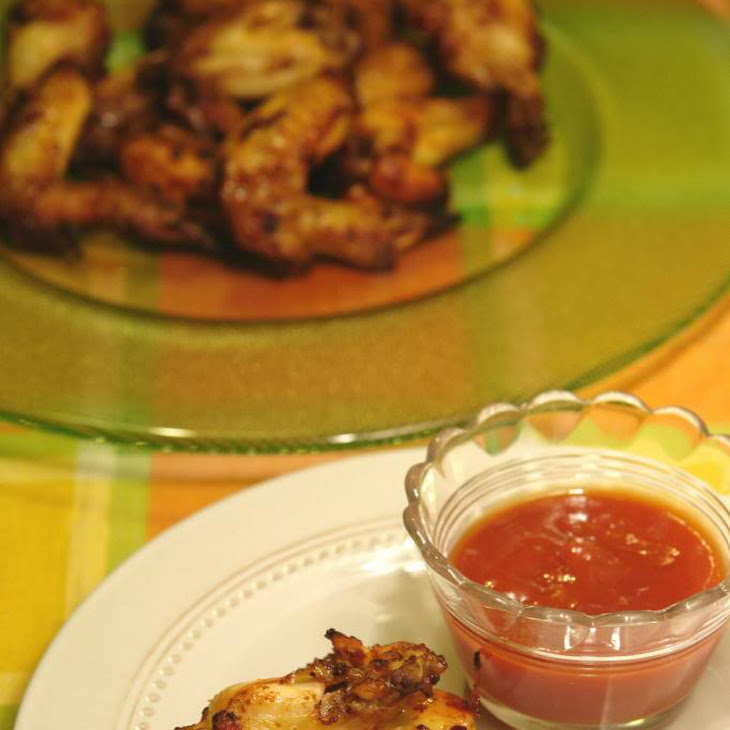 Chicken Wings with Ketchup